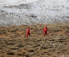 الطوارئ الإيرانية: سمك الثلوج في منطقة حطام الطائرة أكثر من مترين ولم نجد حتى الآن جثث الركاب