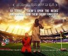 """""""داعش"""" يُهدد كأس العالم بصورة جديدة من إعدام ميسي"""