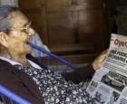امرأة تحقق حلمها.. في عمر يناهز الـ100