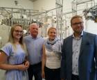 """""""العالم الجديد"""" في جولة صحفية على الشركات المتخصصة بصناعة النسيج في فنلندا"""