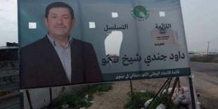 بالصور والمعلومات: لافتات ممزقة لمرشحين بمخيمات النازحين الإيزيديين.. والمتهم أنصار للديمقراطي الكردستاني
