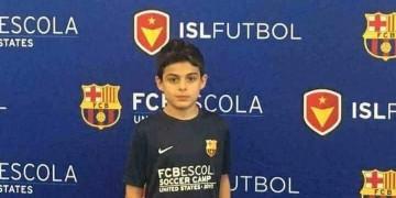 شاهد مهارات أول لاعب عراقي ينضم رسميا الى اللاماسيا التابعة لبرشلونة