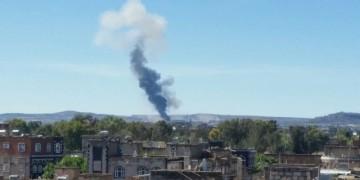 الحوثيون  يقصفون مواقع عسكرية سعودية