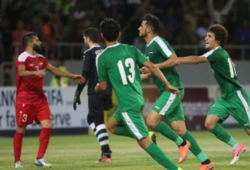 الهزة الأرضية تفزع لاعبي العراق وسوريا عشية المباراة الودية في كريلاء