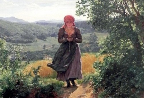 العثور على آيفون في لوحة تعود إلى عام 1860