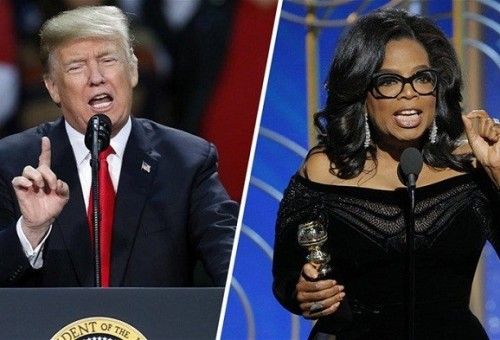 دونالد ترامب يعلق على أنباء ترشح أوبرا وينفري للرئاسة الأمريكية