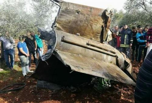 اشتعال الجبهة السورية الإسرائيلية بعد إسقاط طائرة إف- 16