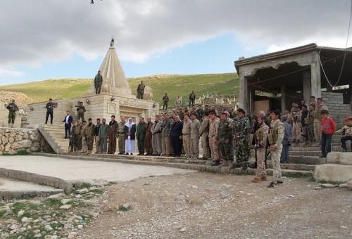 فصائل إيزيدية مسلحة تنهي اشتباكها بتسليم مواقعها للشرطة الاتحادية شمال سنجار