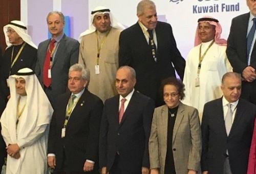 الجميلي خلال مؤتمر الاعمار بالكويت: وضعنا خطة لعشر سنوات لإعادة اعمار العراق
