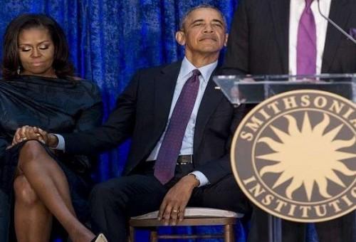 بالصور.. هكذا سيخلد أوباما وميشيل اسميهما في تاريخ الولايات المتحدة!