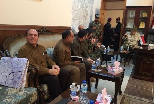 اجتماع القادة العسكريين بكركوك يمنح دورا أكبر للحشد الشعبي في المحافظة