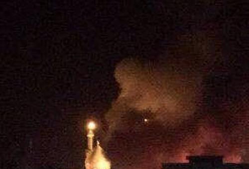 بالصور: إحباط محاولة تفجير مرقد (سيد محمد) في بلد.. ومقتل ثلاثة انتحاريين أمام بوابة دخول الزائرين