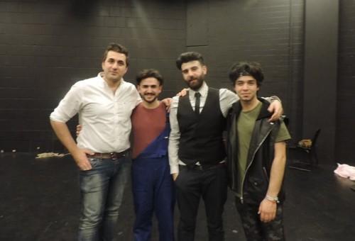(العالم الجديد) تحضر عرضا لفريق فني عراقي سوري مشترك في مسرح (بابليون) بألمانيا