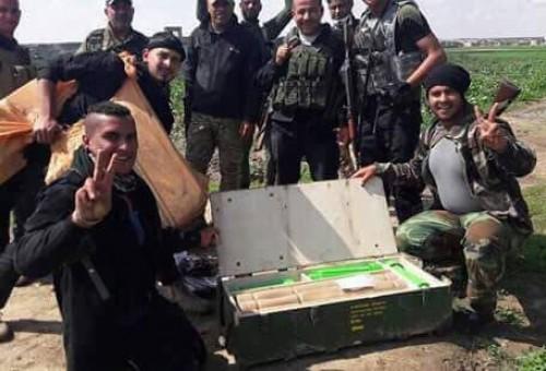 مصدر يكشف بالصور لـ(العالم الجديد): الحصول على صواريخ مهربة سرّ تعرض (داعش) للشرقاط