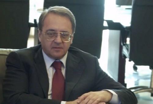 بوغدانوف يلتقي السفيرين العراقي والمصري في موسكو
