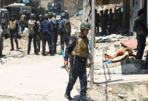 الموصل .. القوات المشتركة تضيق الخناق على داعش في اخر حي بالمدينة القديمة