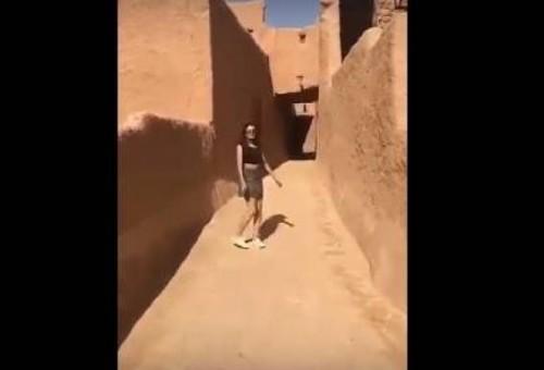 قصة تنورة خلود التي قلبت السعودية