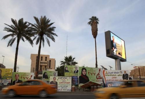 صور ولافتات المرشحين تملأ شوارع وعيون العراقيين في أول أيام الحملة الانتخابية