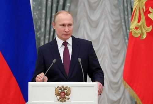 بوتين يوجه رسالة إلى قادة الدول العربية