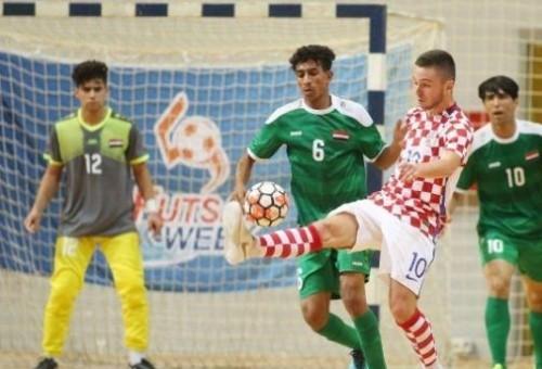 شباب صالات العراق يكتسح كرواتيا