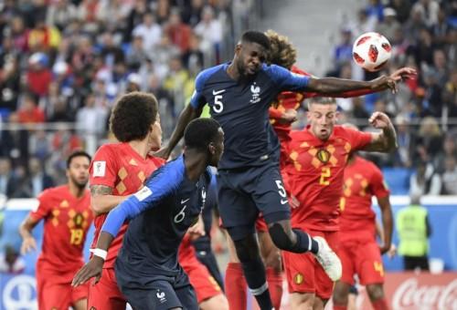 فرنسا تعبر بلجيكا إلى نهائي مونديال 2018