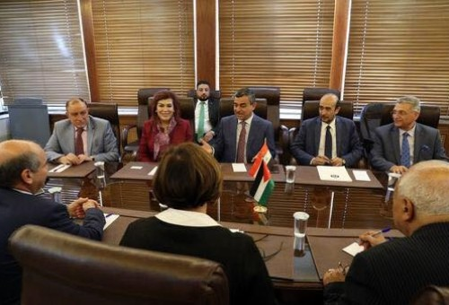 العلاق في الأردن استعدادا للتعداد السكاني (الإلكتروني) في العراق عام 2020