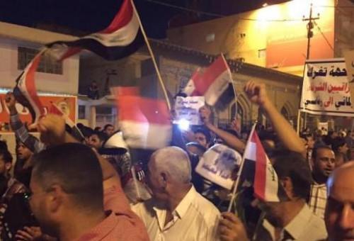 مصدر: متظاهرو النجف يبدأون غدا تصعيدا في أساليب الاحتجاج