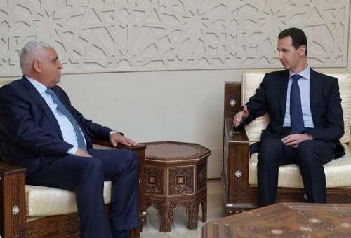 صحيفة خليجية تكشف ما قاله بشار الأسد عن فالح الفياض