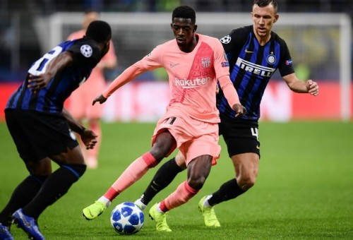 إنتر ميلان يفرض التعادل على برشلونة في دوري الأبطال