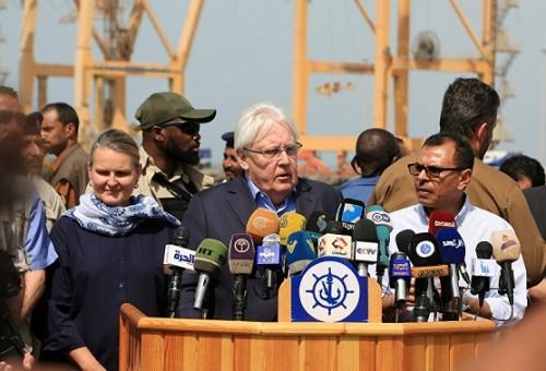 قبل بدء المفاوضات... المبعوث الأممي يزف بشرى سارة لليمنيين بشأن الحديدة