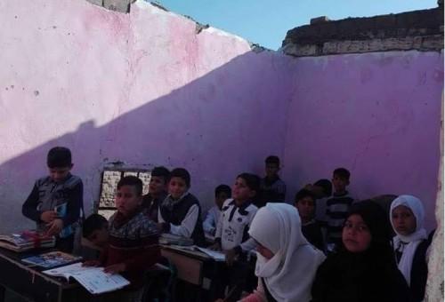 فساد مشاريع الأبنية المدرسية في العراق