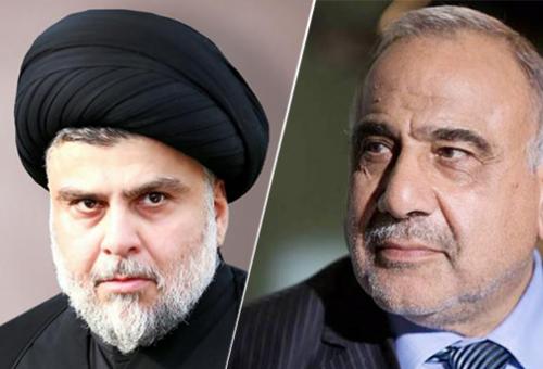 مصدر: الصدر يتراجع عن طلب إقالة عبدالمهدي بعد اجتماعهما في النجف بحضور سليماني